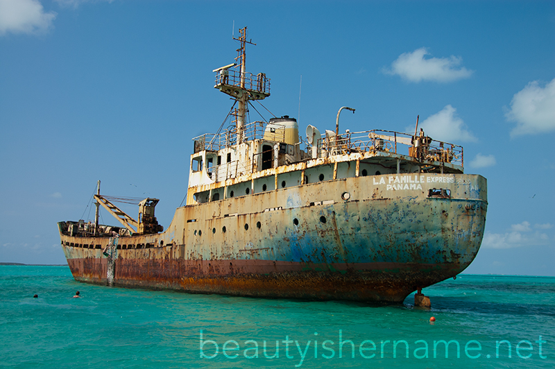 Shipwreck, Long Bay, Turks and Caicos