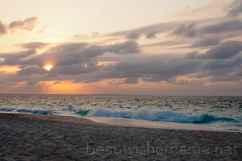 Sunset at Grace Bay, Turks and Caicos